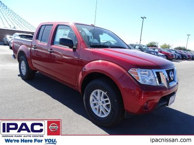 2018 Nissan Frontier SV (Lava Red)