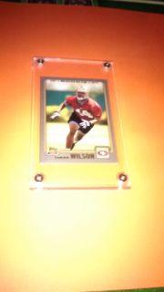 Cedrick Wilson Rookie Football Card