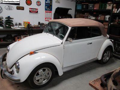 1970 VW Beetle Convertible Cal Bug Project