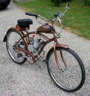 """$475 2 STROKE 50cc GAS MOTORIZED 26"""" MEN'S BICYCLE 20 MPH"""