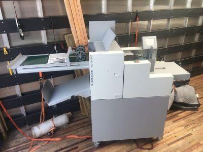 Duplo C375 Paper Creaser & Folder System RTR# 8093198-01