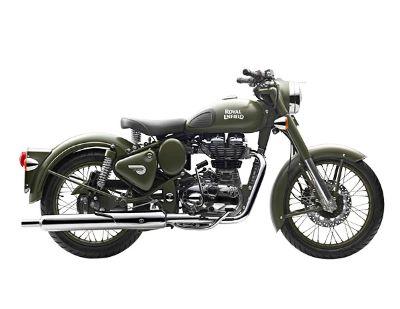 2018 Royal Enfield Classic Military ABS Cruiser Motorcycles Mahwah, NJ
