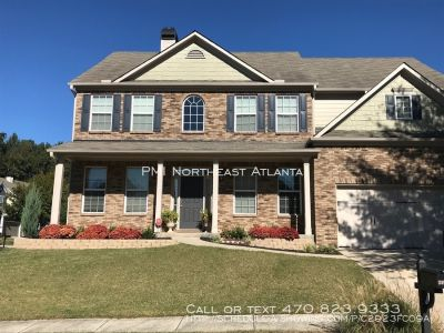 5 Bed/4 Bath in Buford