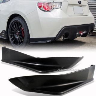 Purchase STi Style BRZ FRS Rear Bumper Side Lip Spoiler For 13-15 Subaru BR-Z /Scion FR-S motorcycle in Rowland Heights, California, United States