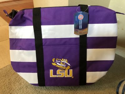 ***VERY NICE LSU Insulated Tote Bag***BRAND NEW