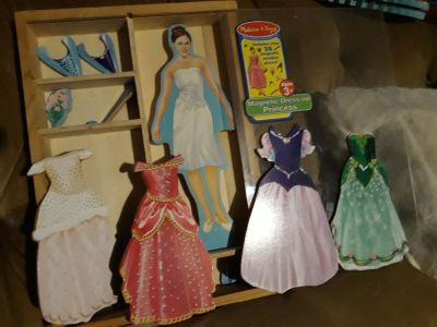 Magnetic Dress up Princes Doll