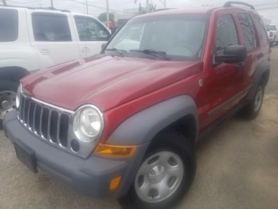 2006 Jeep Liberty Sport (Inferno Red Crystal Pearl)