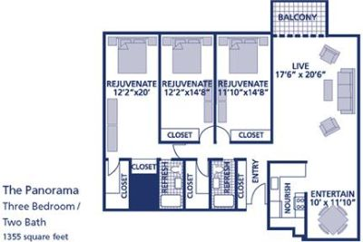 3 bedrooms Apartment - Welcome home to Center.