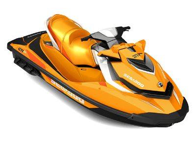 2017 Sea-Doo GTI SE 130 3 Person Watercraft Adams, MA