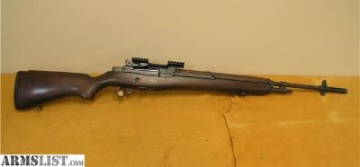 For Sale: Springfield M1A National Match .308 With Mount