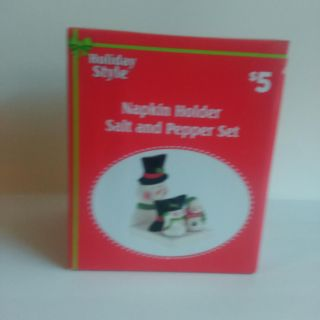 Salt & pepper shaker New with tag