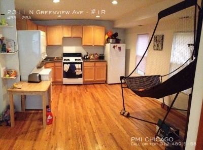 LOVELY Lincoln Park Duplex: hdwd, wd,d/w,A/C, yard,eL,rehabbed