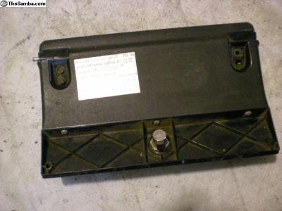 VW Super Beetle glove box door with lock
