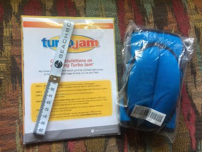 New Turbo Jam Workout Set + Weighted gloves
