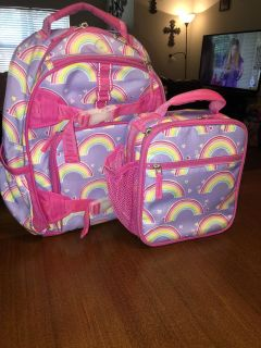 Pottery Barn Small Backpack w/Lunchbox