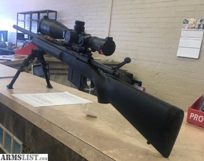 For Sale/Trade: MLR 338 Lapua Mag with Leupold Mark 8 HMR illuminated reticle Sniper
