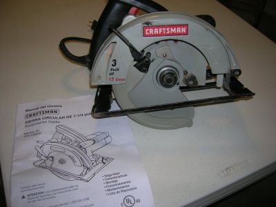 **CRAFTSMAN CIRCULAR SAW **