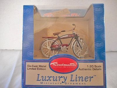 Roadmaster Bicycle 1:20 Scale Quality Toy Replica Limited Edition