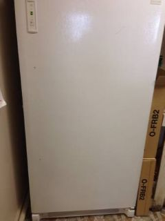 Frigidaire upright freezer (still under warranty)