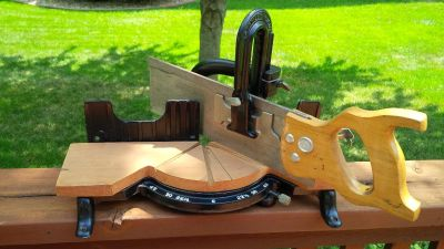 Stanley No. 150 Vintage Tabletop Cast Iron Miter Saw Box - Made in the USA