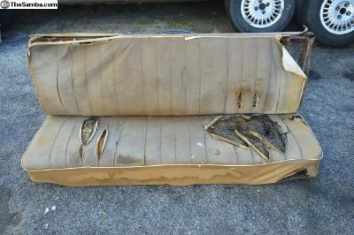 58-60 Mango Caramel Brown Front Bench Seat