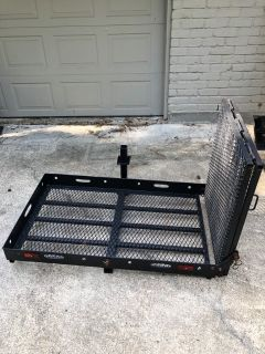 Trailer Hitch Carrier with Ramp