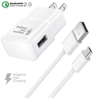 Fast Wall Charger Micro USB Cable Set