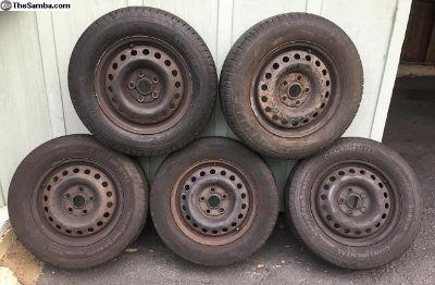 Stock Eurovan wheels, tires