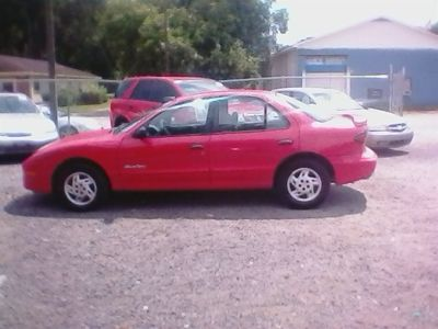 1999 Pontiac Sunfire SE (Red)