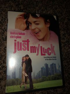 JUST MY LUCK DVD -FIRM ON PRICE