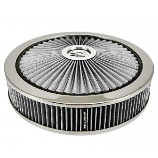 "Purchase Spectre 47628 Filter Top 14"" Air Cleaner Assembly White ExtraFlow motorcycle in Suitland, Maryland, US, for US $99.99"