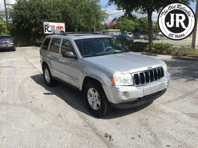 2005 Jeep Grand Cherokee Limited (Silver)
