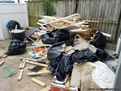 "CONSTRUCTION DEBRIS REMOVAL ""FREE QUOTES"""