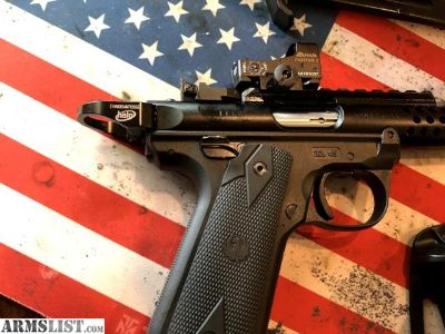 For Sale: Upgraded Ruger 22/45 Mark IV Lite with Burris FastFire3 +more