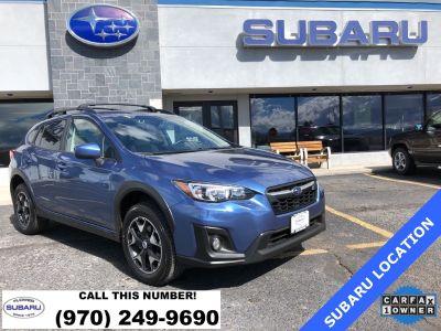 2018 Subaru Crosstrek 2.0i Premium (Quartz Blue)