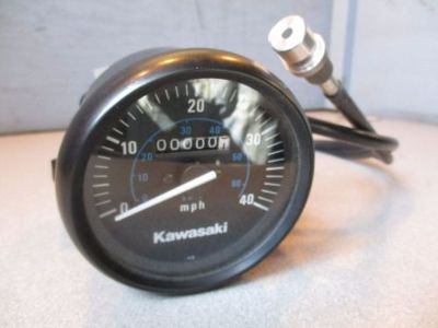 Sell KAWASAKI NOS/OEM MPH SPEEDOMETER KIT SPEEDO KLF300 MOJAVE 99995-1019 KLF 300 motorcycle in Yale, Michigan, United States, for US $99.92