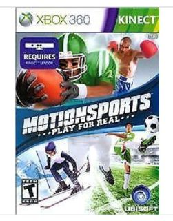Motion Sports Play for Real-XBOX 360