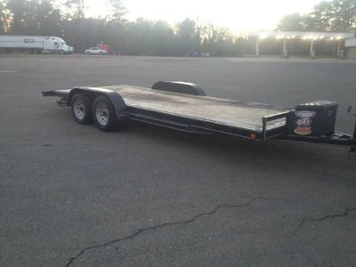 20 FOOT CAR HAULER TRAILER