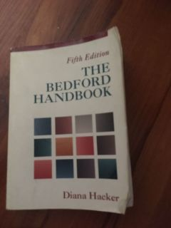 The Bedford Handbook 5th edition