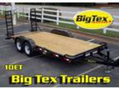 Big Tex Equipment Trailers 7x16 to 7x20 5200 Axles to 7K Axles