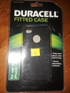 Duracell fitted case for an IPhone 4/4S