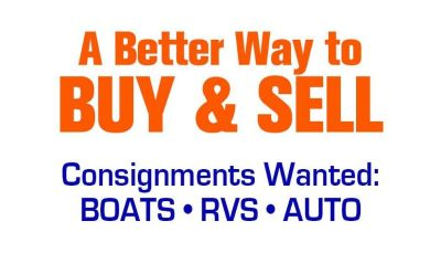 Consign your RV, Boat, Heavy Equipment or Car