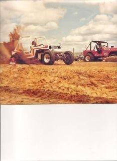 1947 Jeep CJ Sand/Mudd Dragster