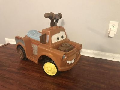 Ride on Mater