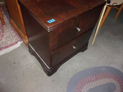 Ashley Two Drawer End Table