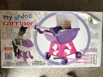 Brand new doll carriage/stroller