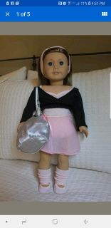 American Girl Doll Ballet Outfit Set