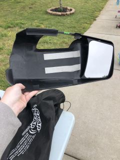Dodge Ram 1500 towing mirrors