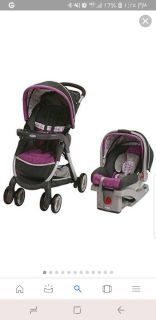 Graco carseat and stroller combo