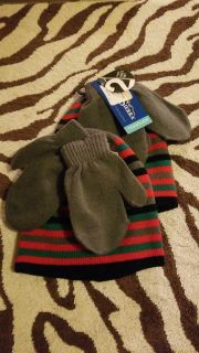 $2 each toddler hat and mitten set